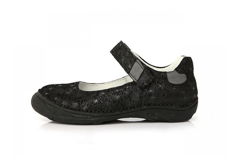 D.D.STEP fekete lány balerina gyerekcipő 25-30 182b07d89d