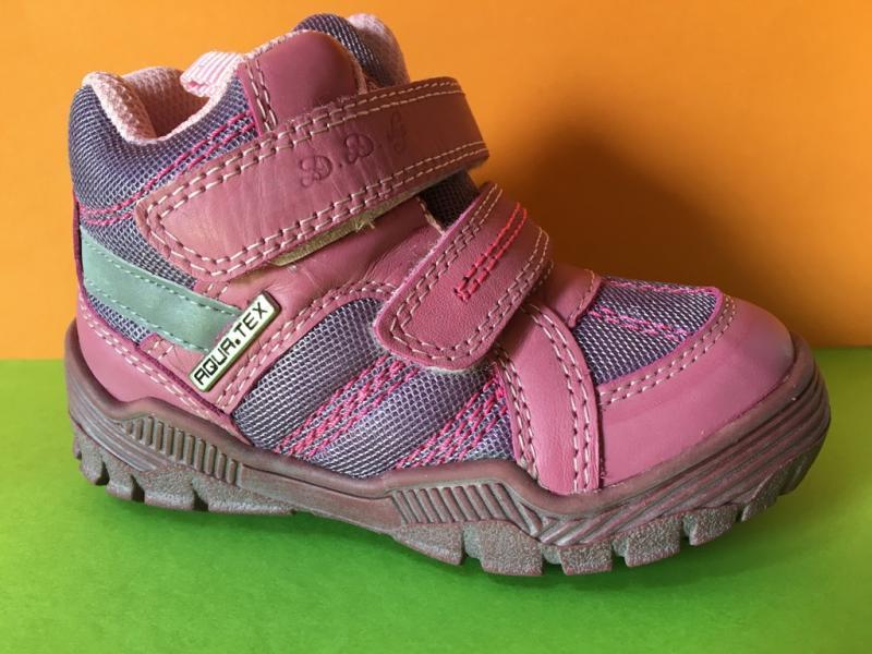 D.D.step pink magasszárú lány VÍZÁLLÓ tépőzáras gyerekcipő 24-29 ... d006e9a152